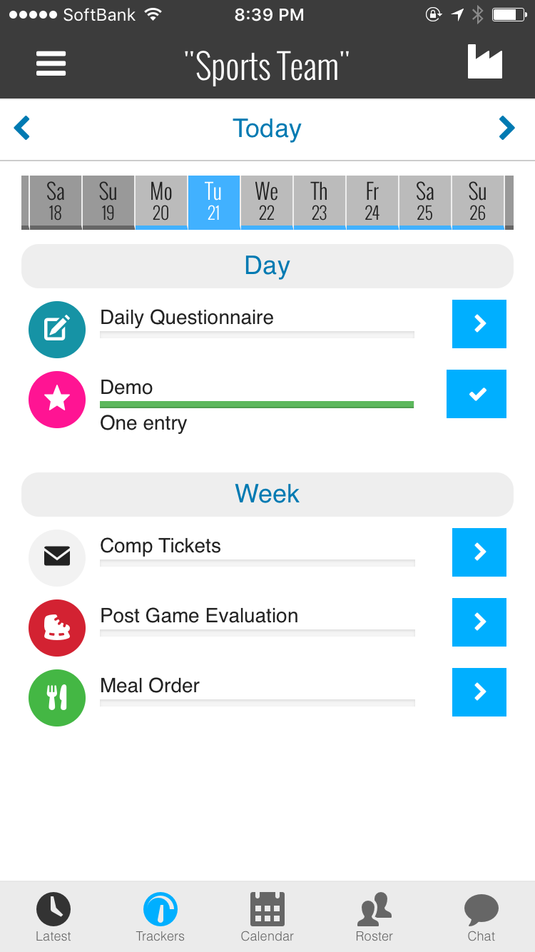 drivn app dashboard screenshot
